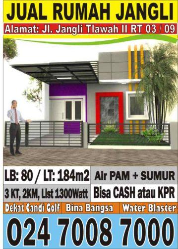 iklan jual Rumah Candisari, Semarang - Dijual rumah di ...